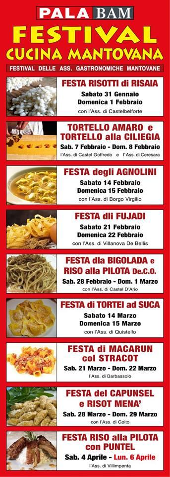 Festival della Cucina Mantovana 2015