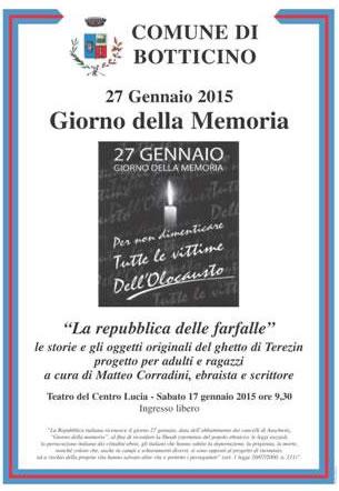 Giorno della Memoria 2015 a Botticino