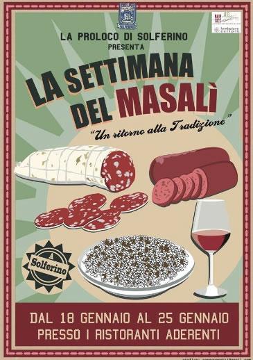 La Settimana del Masalì a Solferino (MN)
