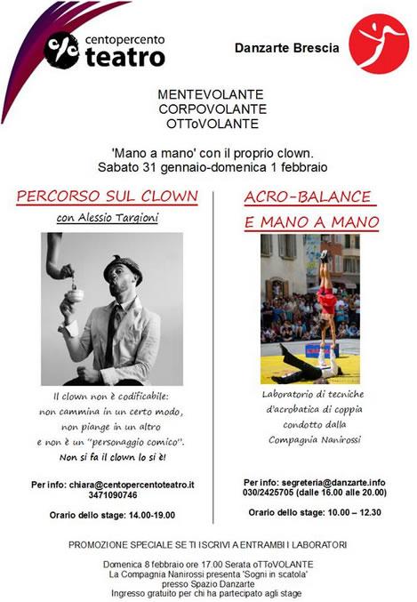 Laboratori di Danzarte a Brescia