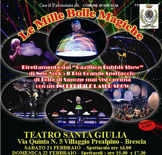 Le Mille Bolle Magiche a Brescia