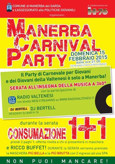 Manerba Carnival Party 2015