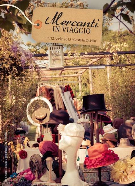 Mercanti in Viaggio 2015 al Castello Quistini di Rovato