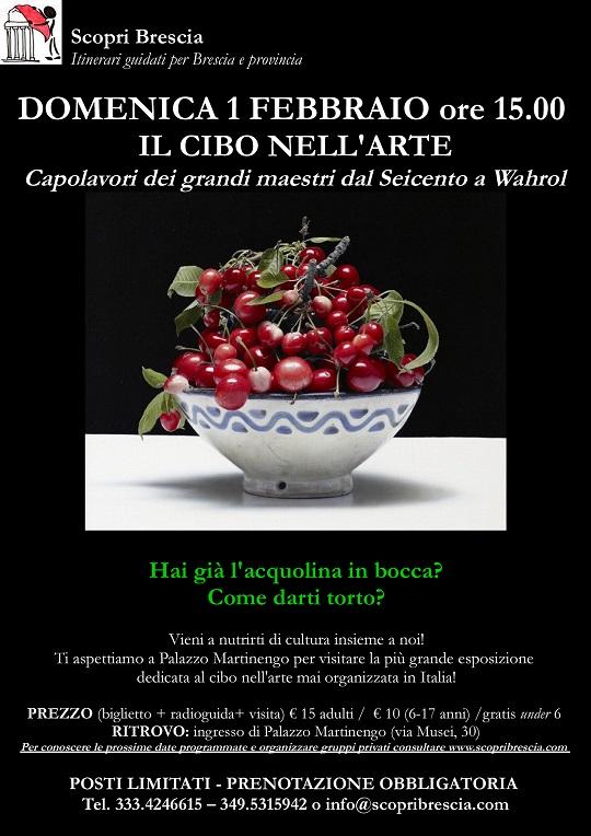 """Mostra """"Il Cibo nell'Arte con Scopri Brescia"""""""