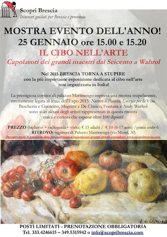 Mostra Palazzo Martinengo 25 gennaio
