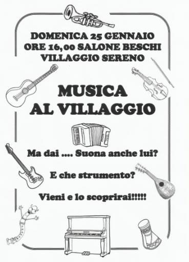 Musica al Villaggio Sereno