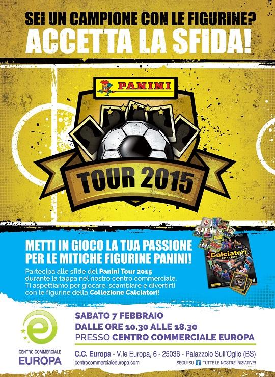Panini tour 2015 CC Europa Palazzolo S O