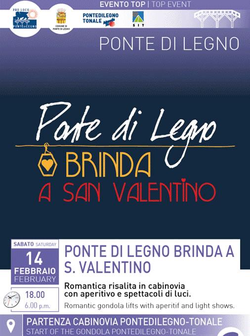 Ponte di Legno Brinda a San Valentino