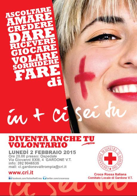Presentazione Corso Croce Rossa Italiana a Gardone VT