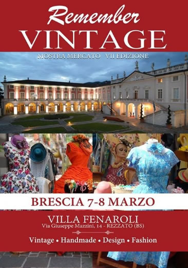 Remember Vintage 2015 a Rezzato