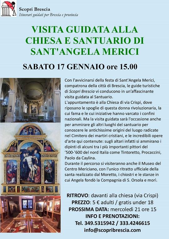 Sabato 17 - Chiesa S. Angela Merici Brescia