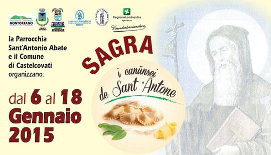 Sagra I Canusei de Sant'Antone 2015 a Castelcovati