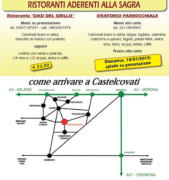 Sagra I Canusei de Sant'Antone  a Castelcovati