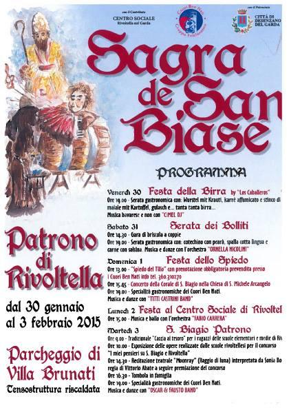 Sagra de San Biase 2015 Rivoltella