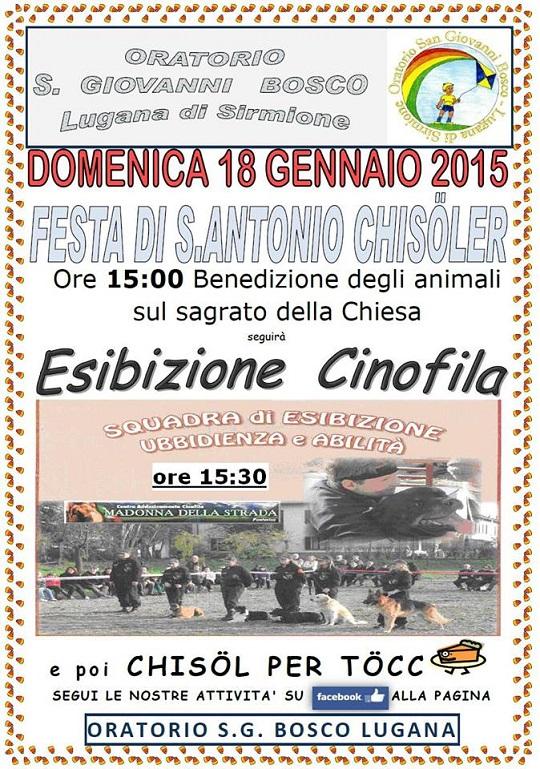 Sant'Antonio Chisolér Sirmione 2015