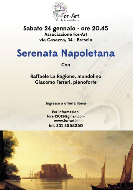 Serenata Napoletana a Brescia