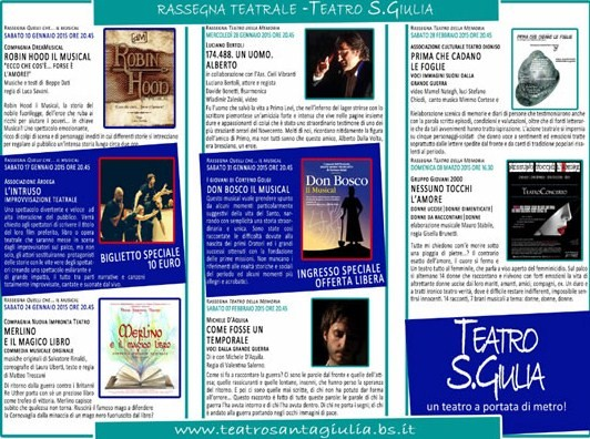 Spettacoli Teatrali  a Brescia