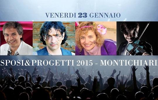 Sposi e Progetti Montichiari 2015 VENERDI 23 GENNAIO