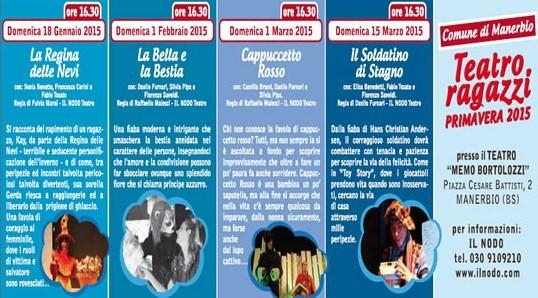 Teatro Bambini 2015 a Manerbio