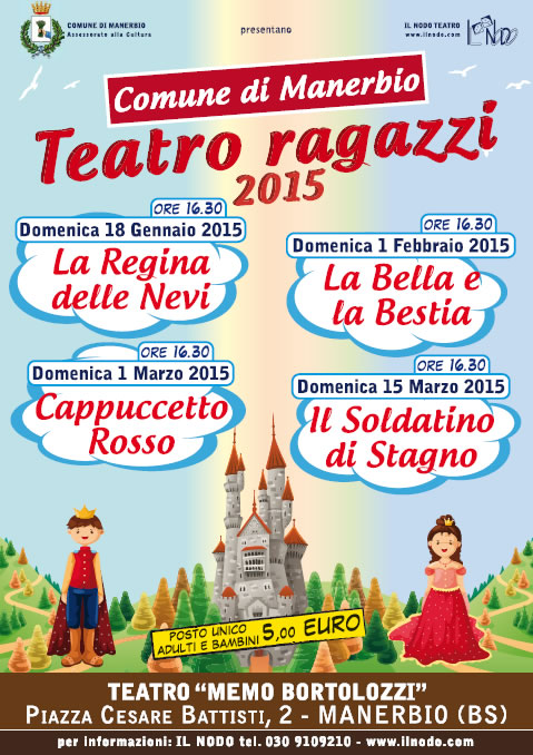 Teatro Ragazzi 2015 a Manerbio