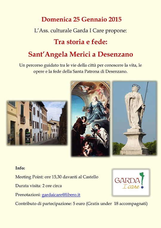 Tour Sant Angela Merici Desenzano 2015