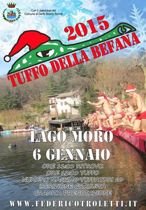 Tuffo della Befana 2015 a Darfo Boario Terme