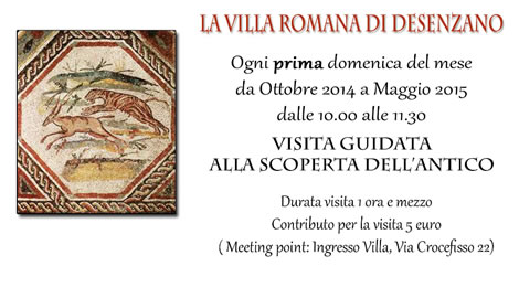 Visita alla Villa Romana di Desenzano