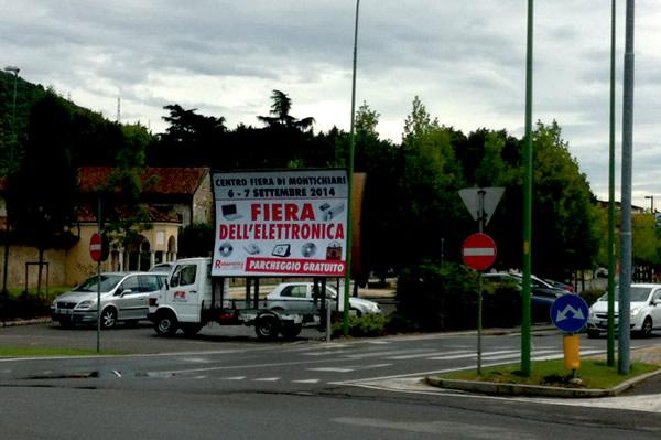 camion a vela per pubblicita