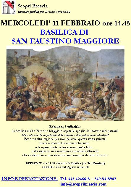 Basilica di San Faustino Maggiore con Scopri Brescia