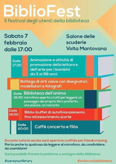 BiblioFest a Volta Mantovana