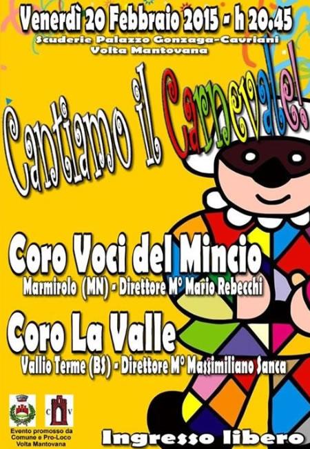 Cantiamo il Carnevale a Volta Mantovana