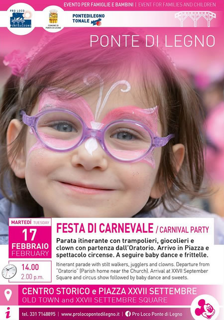 Carnevale 2015 a Ponte di Legno
