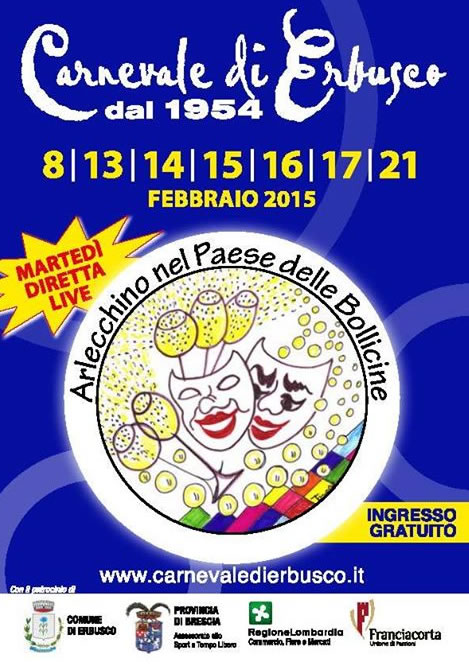 Carnevale di Erbusco 2015