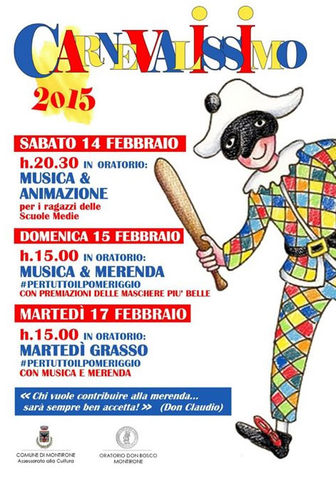 Carnevalissimo 2015 a Montirone