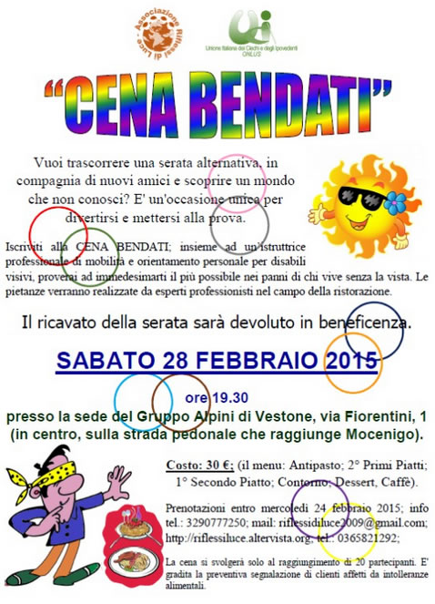 Cena Bendati a Vestone