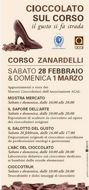 Cioccolato sul Corso 2015 a Brescia