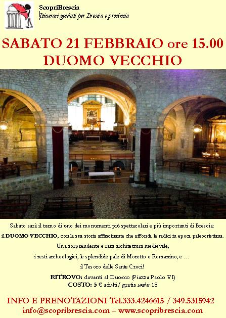 Duomo Vecchio con Scopri Brescia