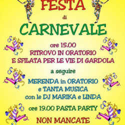 Festa di Carnevale a Tignale