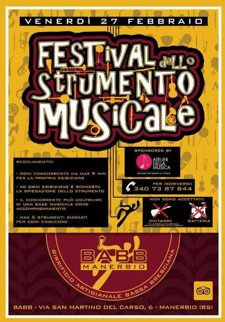 Festival dello Strumento Musicale a Manerbio