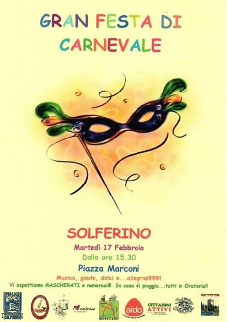 Gran Festa di Carnevale a Solferino (MN)
