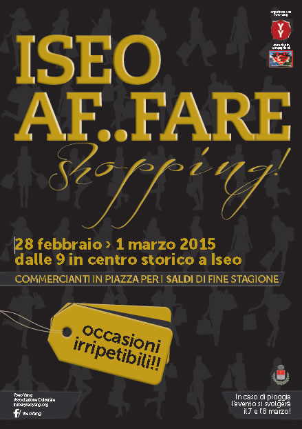 Iseo Af Fare Shopping