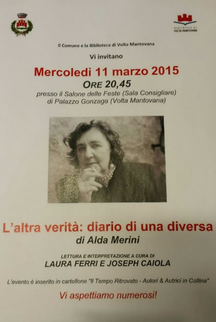 L'altra Verità Diario di una Diversa a Volta Mantovana