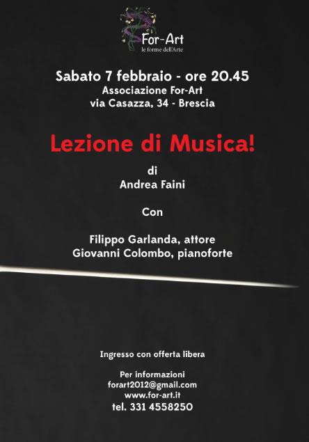 Lezione di Musica a Brescia