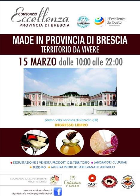 Made in Provincia di Brescia Territorio da Vivere a Rezzato