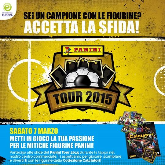 Panini Tour 2015 al CC Europa di Palazzolo 7-3-15