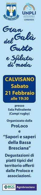 Sapori e Saperi della Bassa Bresciana a Calvisano