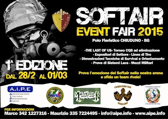 SoftAir Event Fair 2015 Chiuduno (BG)