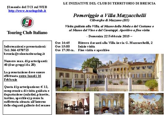 Villa Mazzucchelli con TCI