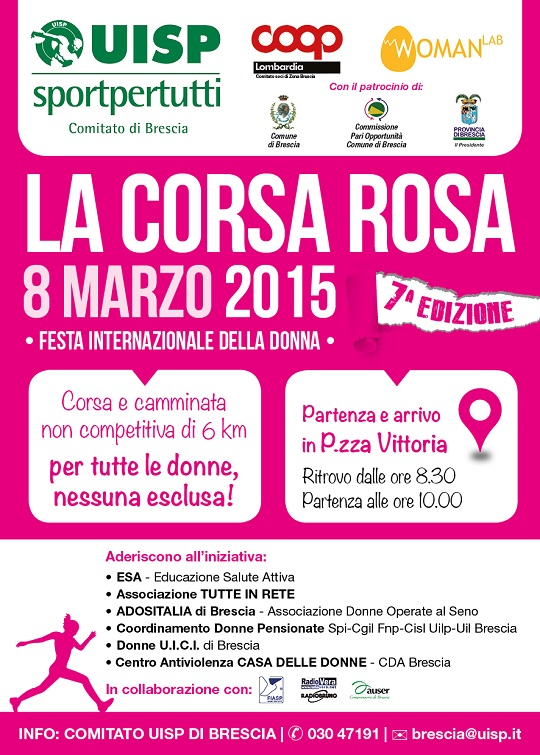 volantino CORSA ROSA 2015