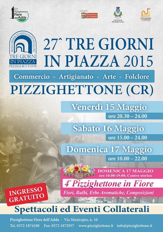 27 Tre giorni in piazza Pizzighettone (CR)